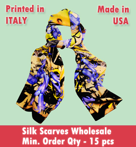 silk scarves wholesale